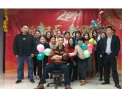 SZG Spring festival party and holiday arrangement