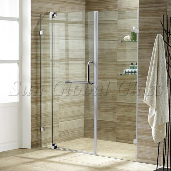 10mm Clear Tempered Glass Door 10mm Toughened Glass Shower Door