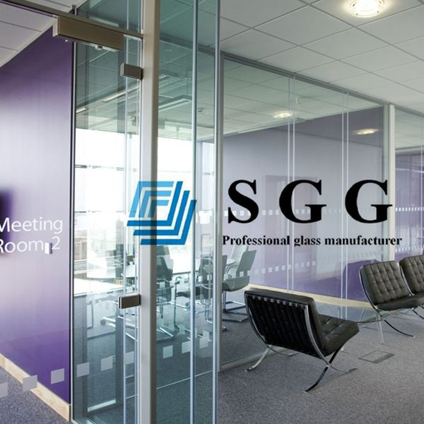 clear office. 10mm Clear Tempered Partition Glass Wall, Office Toughened Safety Interior Wall 10mm,