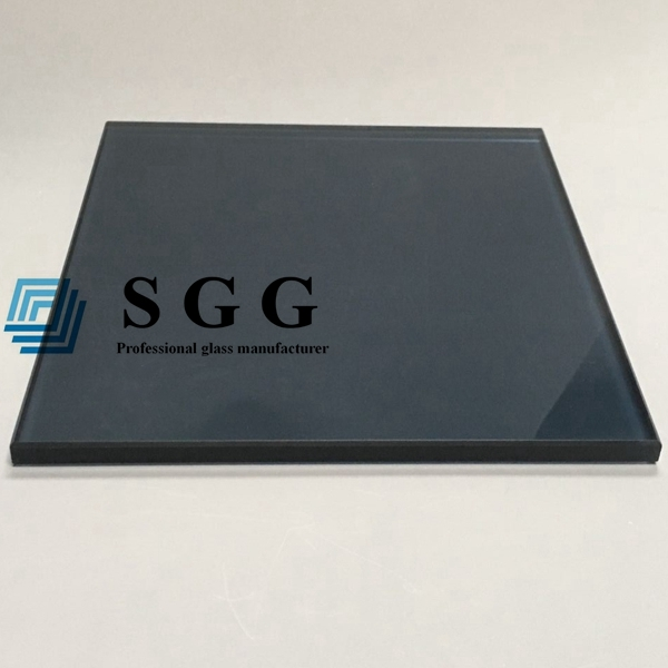 Crystal Gray Toughened Glass Manufacturers 10mm Gray