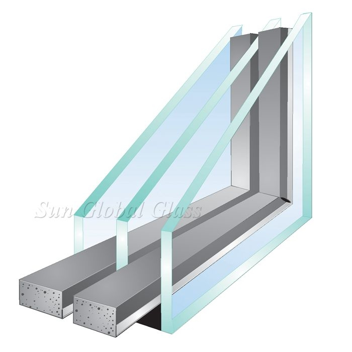 Double Glazing Product : Mm triple insulating units price in china low e