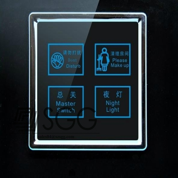 6mm Tempered Glass Touch Switch Manufacturer In China 6mm