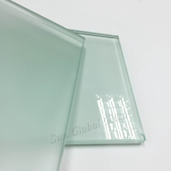 China 8mm Acid Frosted Glass Factory Shenzhen 8mm Clear