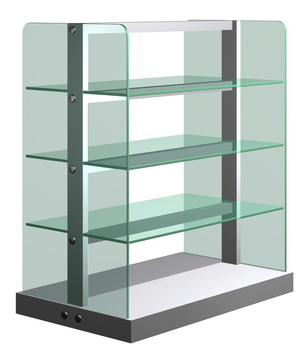 8mm Tempered Glass Shelves 8mm Tempered Glass Panels