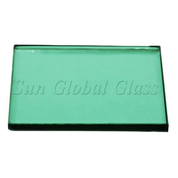 6mm Dark Green Glass Factory 6mm Green Tinted Glass