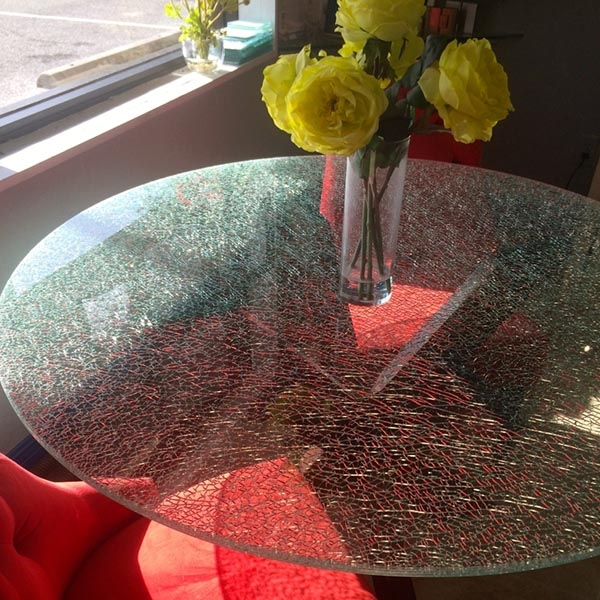 Shattered Glass Coffee Table Tops Cracked Glass Dinner Table Tops Broken Glass Kitchen Countertops Furniture Glass Wholesales
